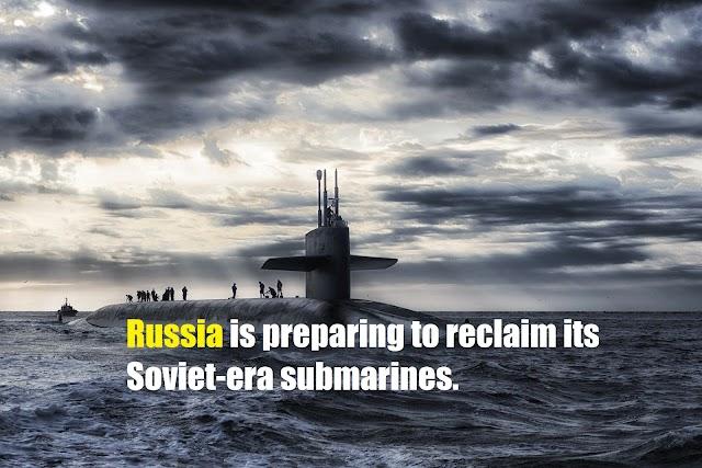 Radioactive dives disintegrate under the world's busiest fisheries: Russia is preparing to reclaim its Soviet-era submarines.