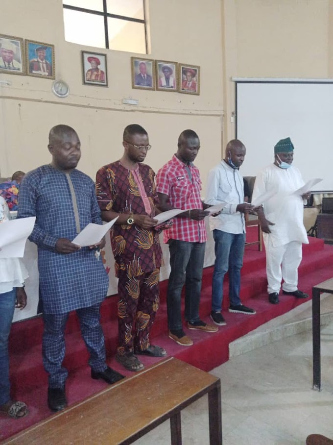 LAUTECH ALUMNI MOTHER CHAPTER USHERS IN NEW EXECUTIVES