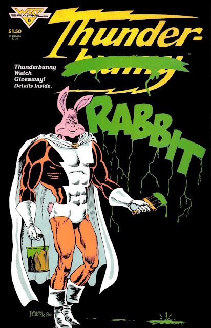 comic book bunny