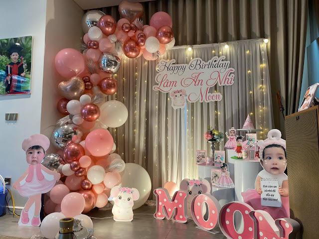 thuê trang trí sinh nhật cho bé tại nhà cầu giấy