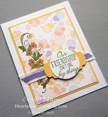 Heart's Delight Cards, Beauty Abounds, Friendship, Occasions 2019, Stampin' Up!