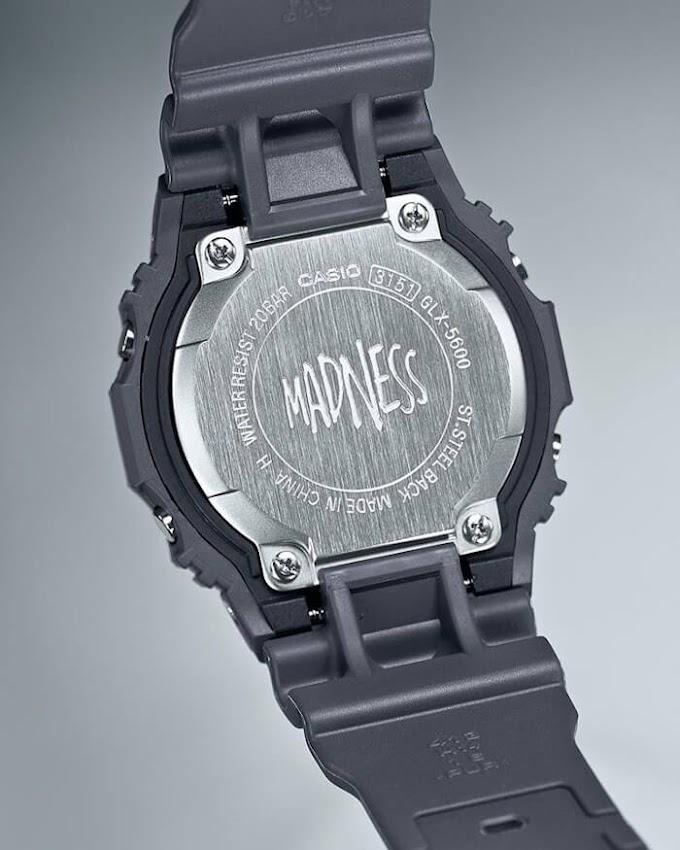 Jam Madness x G-Shock G-LIDE GLX-5600MAD19-1 Tahun 2020