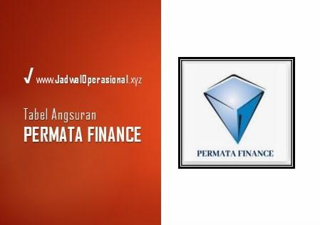Tabel Angsuran Permata Finance