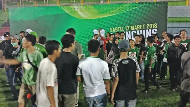 Menyedihkan, Launching PSMS Amburadul