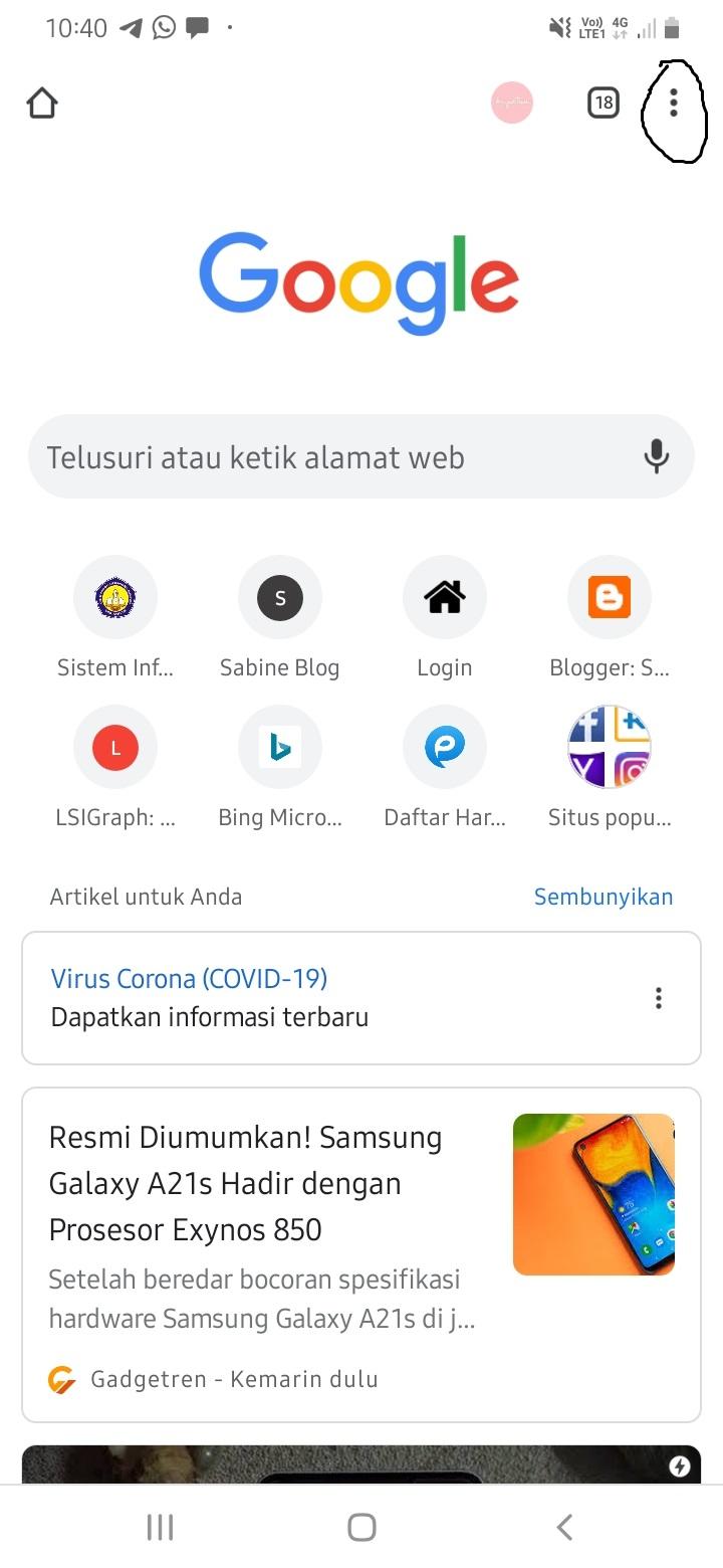Cara Membuka Situs Yang Diblokir Di Google Chrome Sabine Blog