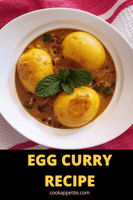 This egg curry has incredible flavors. Its a comforting and satisfying egg curry recipe that can be served with rice, or pasta.   Egg curry is a great topping for many different foods, you can add it to dessert pasta for dinner, plain macaroni or plain rice for lunch