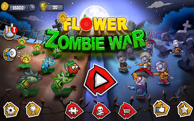 Flower Zombie War APK For Android