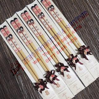 Souvenir Pernikahan Sumpit Kayu, Sumpit Kayu Cina, Sumpit bambu, Souvenir Sumpit Kayu Premium Class Unik Lucu Mewah Dan Murah