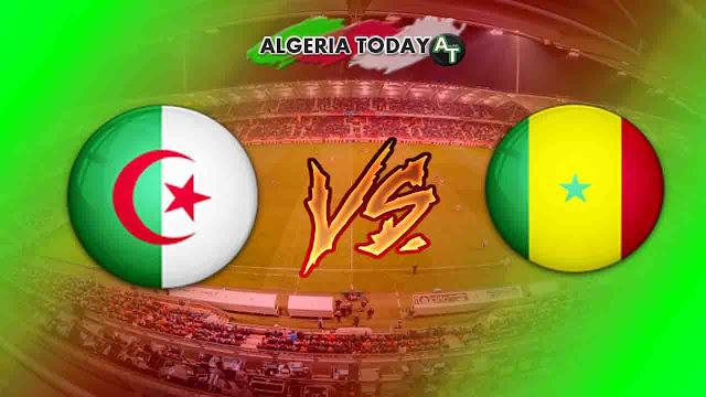 القنوات الناقلة لـ مباراة الجزار و السنغال هذا الخميس