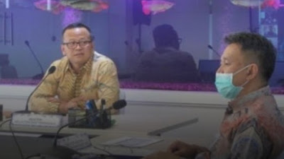 Anak Buahnya Meninggal karena Covid-19,  Menteri  Edhy Prabowo Bersedih