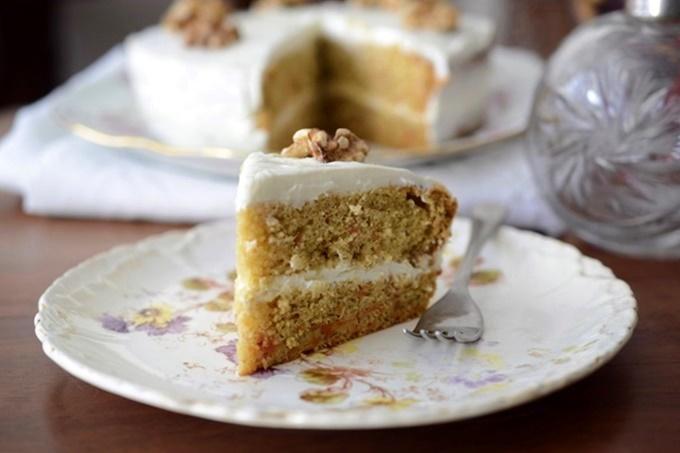 Tritordeum Carrot Cake