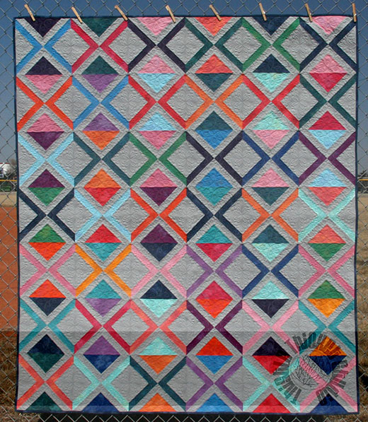 Chainlinks Quilt designed by Sharla Krenzel of Thistle Thicket Studio for Moda bake shop