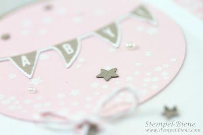 stampinup babykarte, stampin up wir feiern, babykarte mädchen, stampinup workshop, stempel-biene, match the sketch, vorteile stampinup demonstrator, stampinup katalog kostenlos