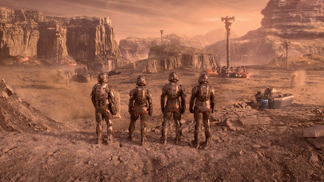 Valles Marineris - Mars image from The Expanse
