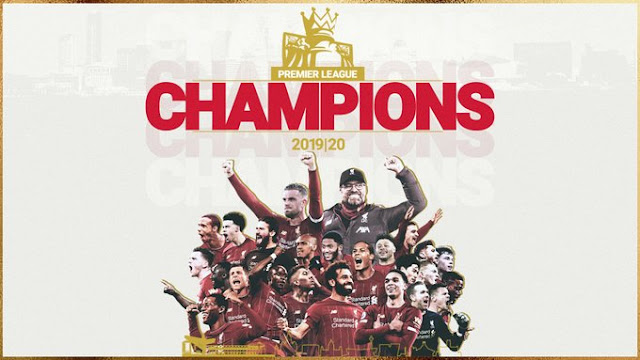 Liverpool are the 2019/20 Premier League champions