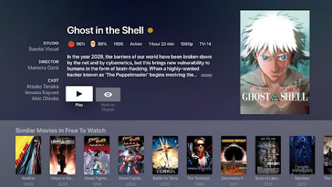 plex internet tv video on demand free service with full anime library