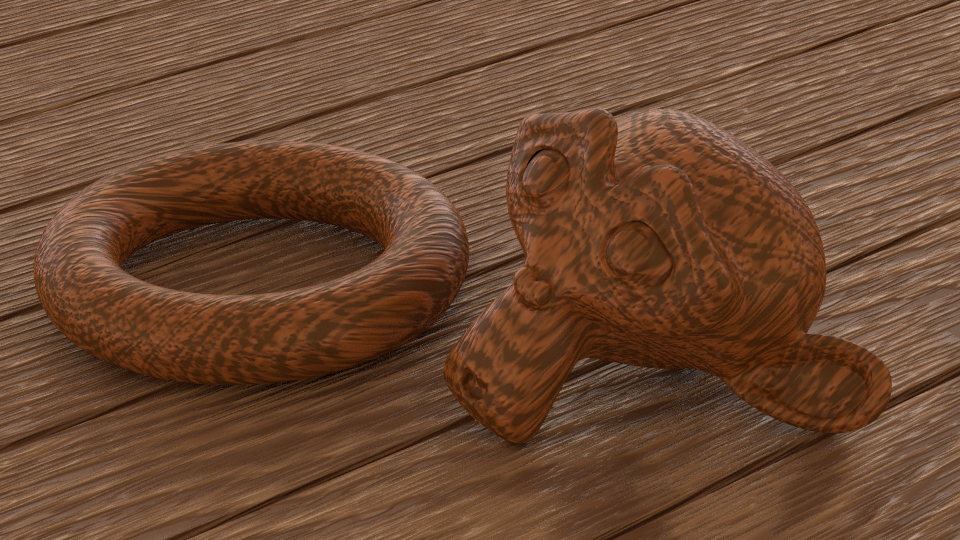 Small Blender Things: An OSL Wood Shader for Blender Cycles