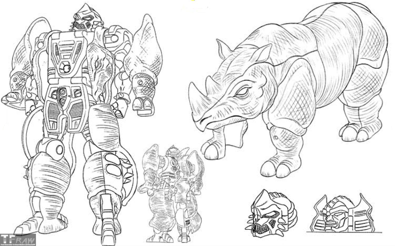 Beast Wars Character Designs