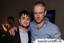 Daniel Radcliffe attends the Grey Goose Blue Door Kill Your Darlings cocktail party