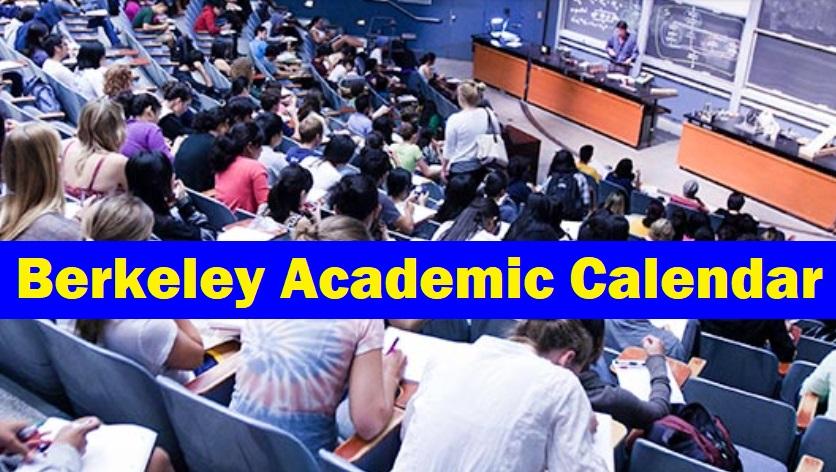 Berkeley Academic Calendar