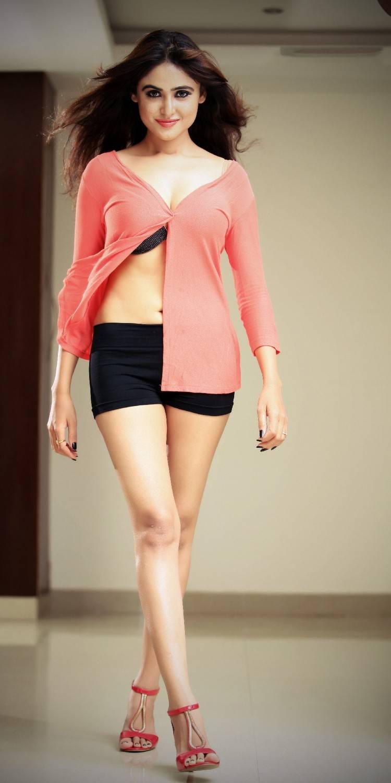 Actress Navel Hip Legs Thighs In Mini Dress Sony Charishta
