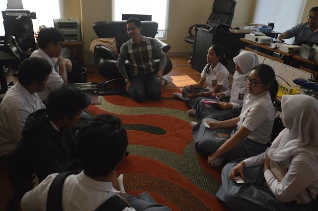 Kunjungan SMAN 34 Jakarta ke Kantor DPP PKS Bahas Fungsi Partai Politik dan Anak Muda