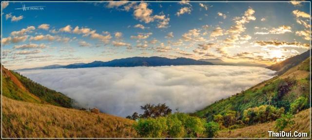 mây trên núi Tây Bắc
