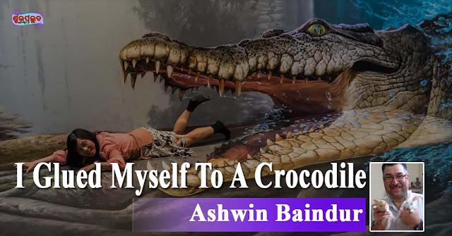 I Glued Myself To A Crocodile