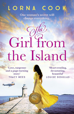The Girl from the Island by Lorna Cook book cover