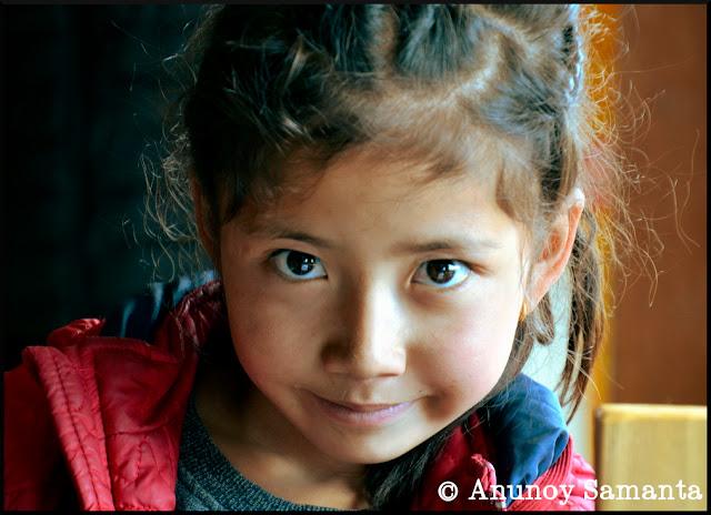 The Ladakhi Girl - from my Ladakh Motorcycle diary