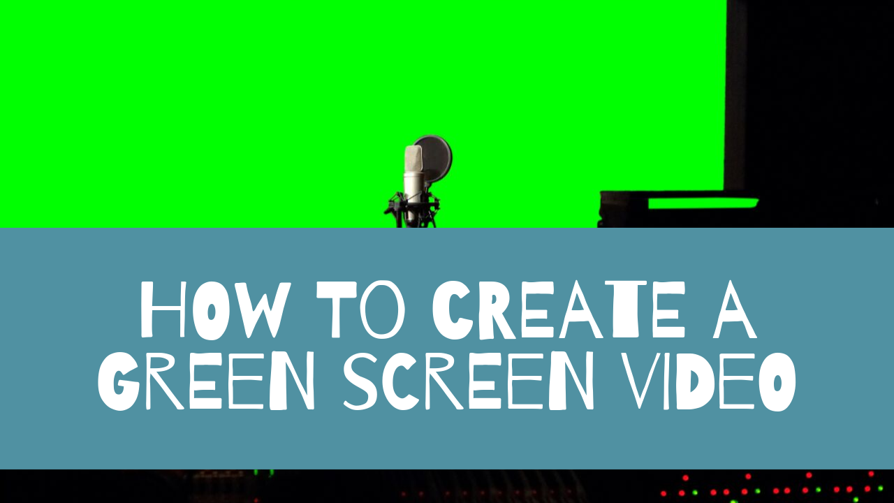 How to Create a Green Screen Video in iMovie