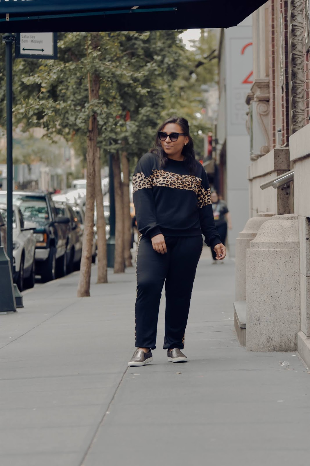 shein clothing reviews, chic sweat suits, leopard print, easy mom outfits