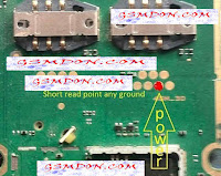 Nokia 220 Power button not working problem solve below on this page. easily you can fix your call phone power button not working problem. if your device power button not working at first check your device charging is working. if your device is turn off but when you connect charger phone is showing charging but device power button is not working. you try connect this red mark point to power button using copier coil. i hope you successfully done it.  Nokia 220 Power button not working problem solve.   Downlo This nokia 220 power button image