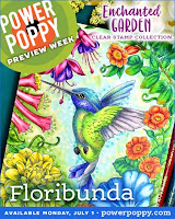 PP Floribunda stamp set