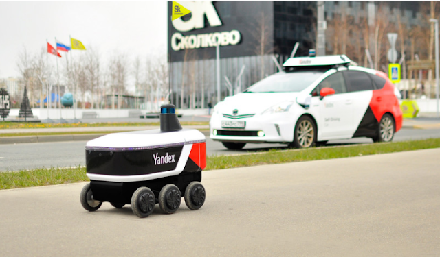 Robot kurir buatan Rusia, Yandex.Rover