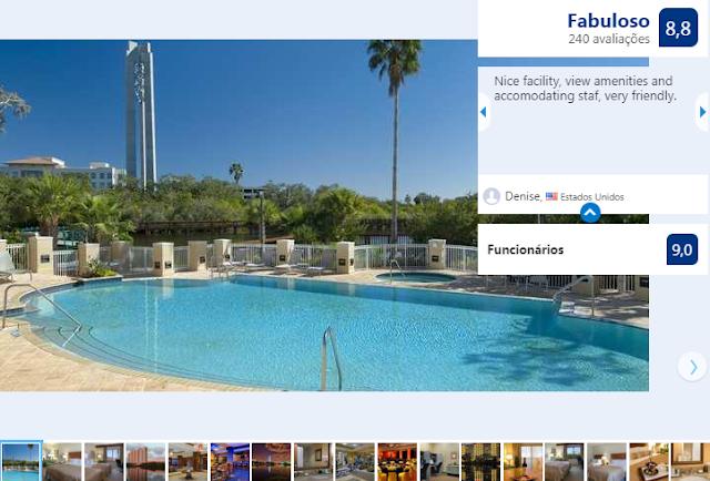Hotel Hilton St. Petersburg Carillon Park: piscina