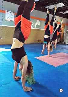 pilates aerien