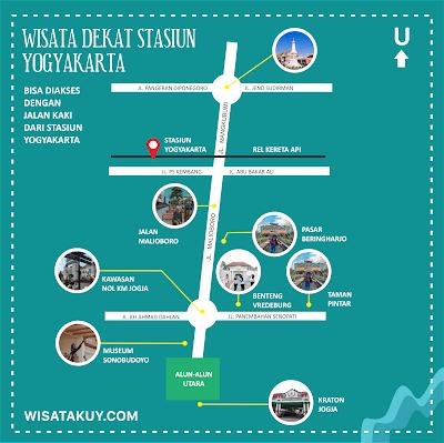 Wisata dekat stasiun Yogyakarta