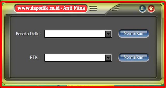 Download Aplikasi AntiFitnah Dapodik 2020 Mengatasi Permasalahan Aplikasi Selain Aplikasi Dapodik Yang Eror
