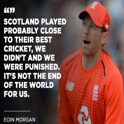 Scotland won by 6 runs