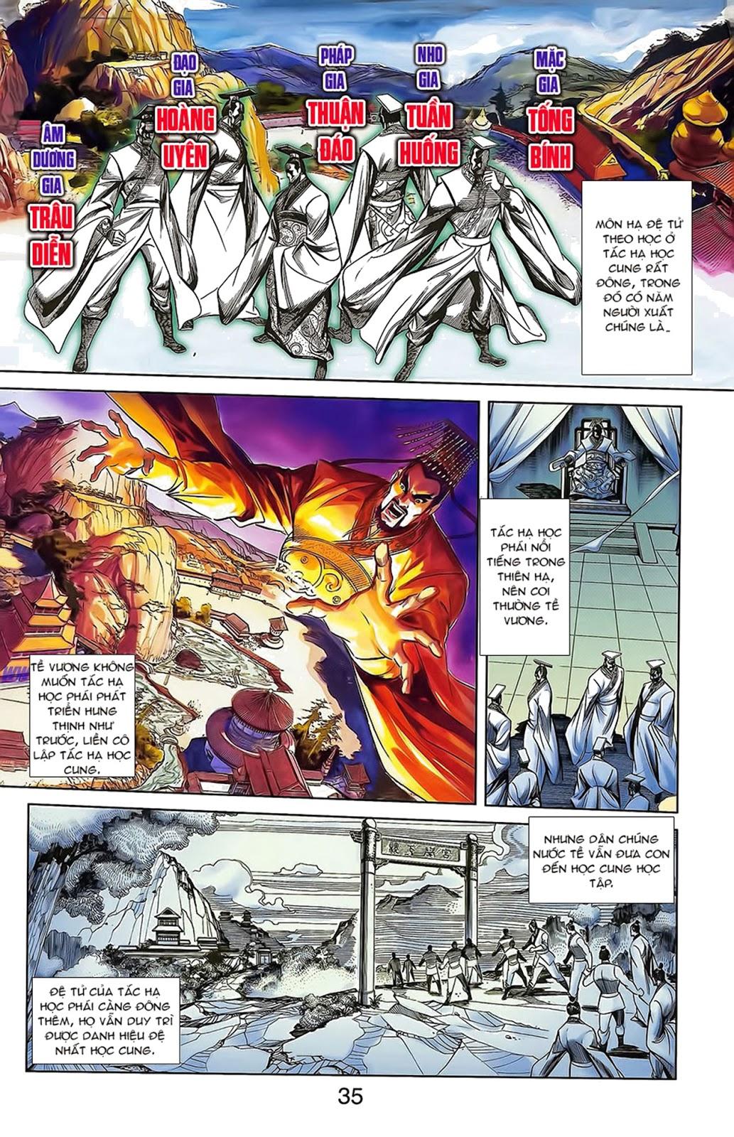Tần Vương Doanh Chính chapter 15 trang 9