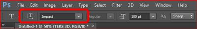 Cara Membuat Teks 3D