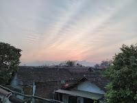 sunset..Hasil Kamera Hisense Pureshot