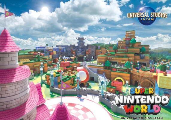 Universal Studios Jepang Merilis Visual untuk Area 'Super Nintendo World'
