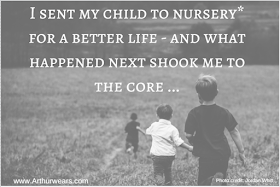 I sent my child to nursery for a better life - what happened next shook me to the core - replace nursery with America and classrooms with cages