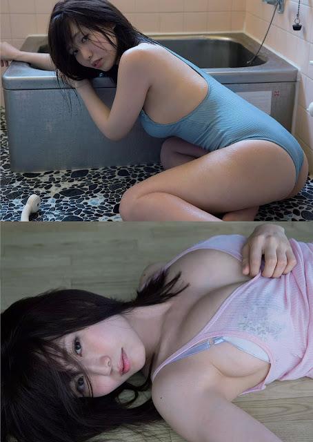 桜井えりな Sakurai Erina Weekly Playboy No 33 2017 Pics