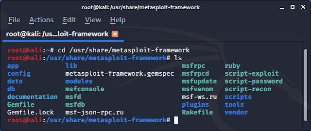Metasploit framework module