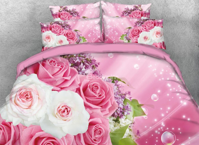 Beddinginn- rose bedding sets