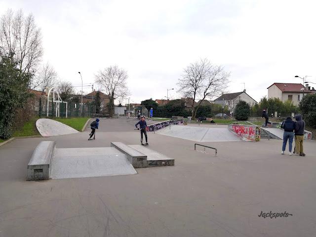 skate park joinville le pont
