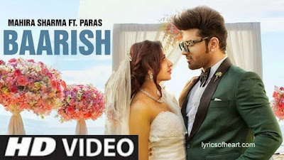 Baarish Lyrics| Sonu Kakkar | Tony Kakkar
